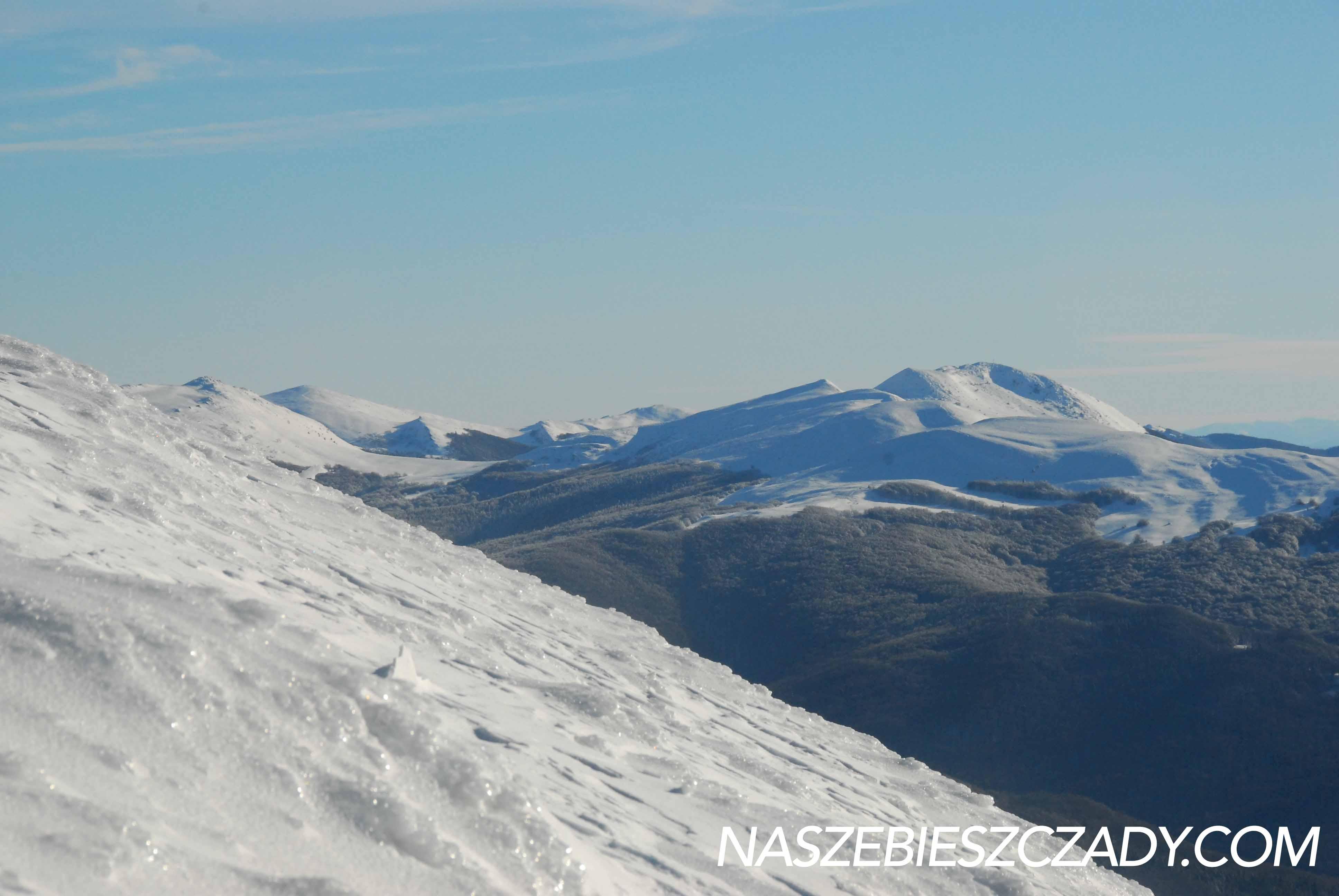 Zimowa turystyka w Bieszczadach